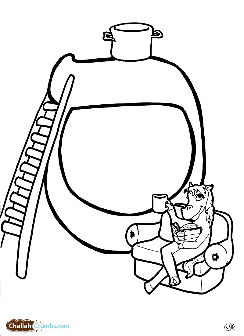 Free Coloring Pages Aleph Bet Coloring Pages