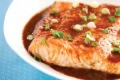 Roasted Salmon Maple Glaze