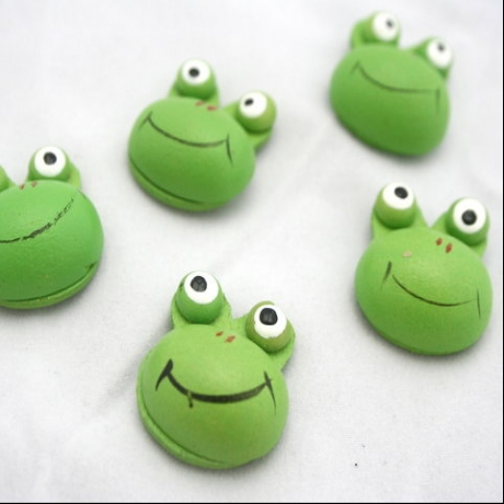 Wooden Frog Stickers