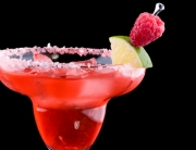 Raspberry Margarita  - Most popular cocktails series