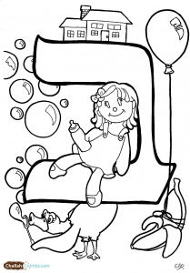 bet coloring page