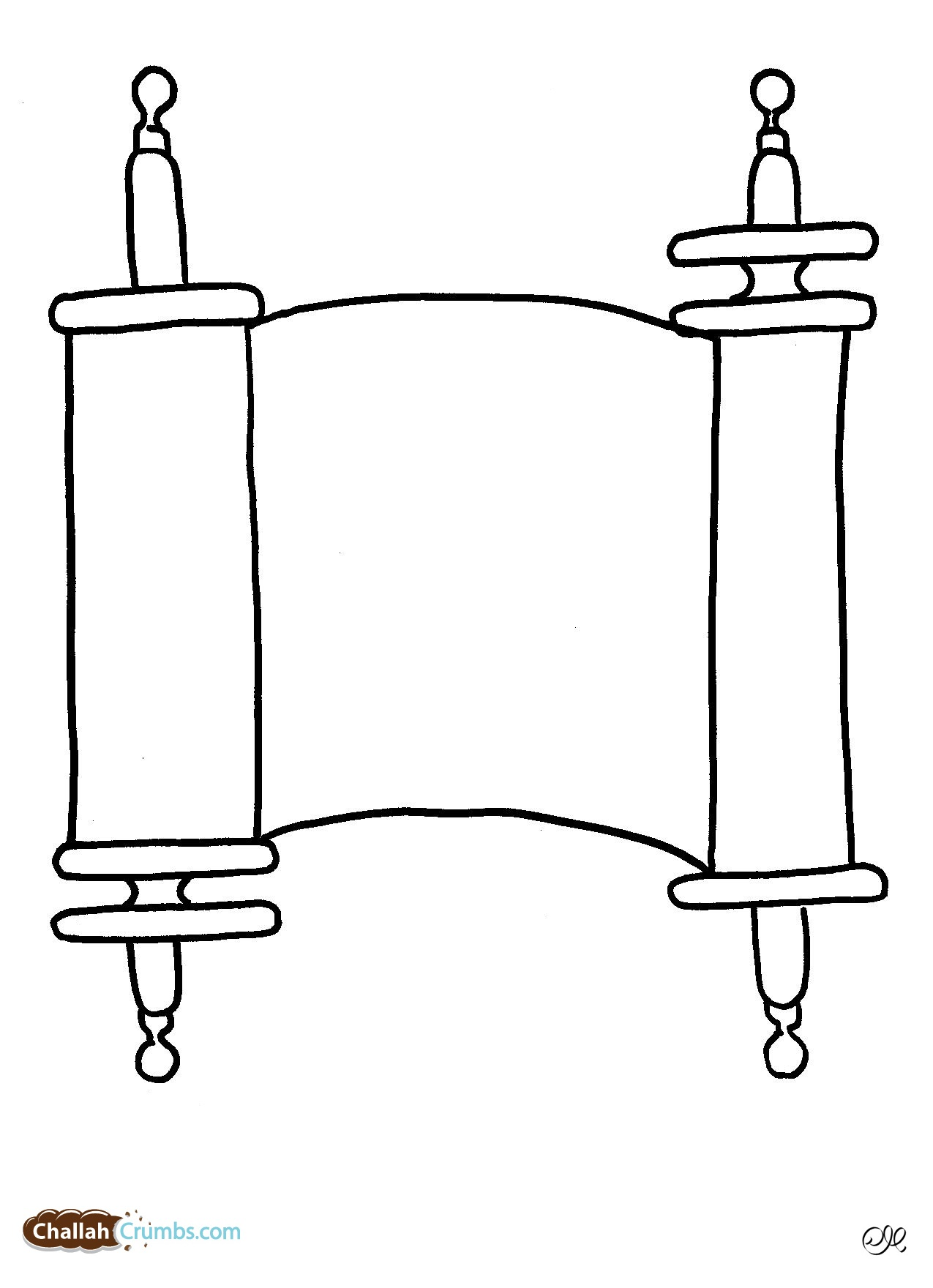 torah coloring pages free coloring pages of torah scroll