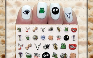 Ten Plagues Nail Decals