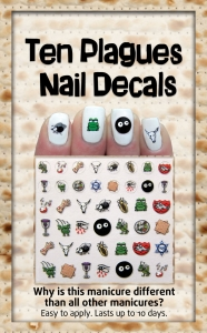 Ten Plagues Nail Decals Package
